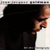 Cover Jean-Jacques Goldman - 81-91 - L'intégrale [8 CD]